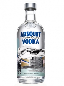 Absolut Blank Mario Wagner Limited Edition 0,70 Liter