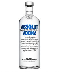 Absolut Blue Vodka 1,0 Liter