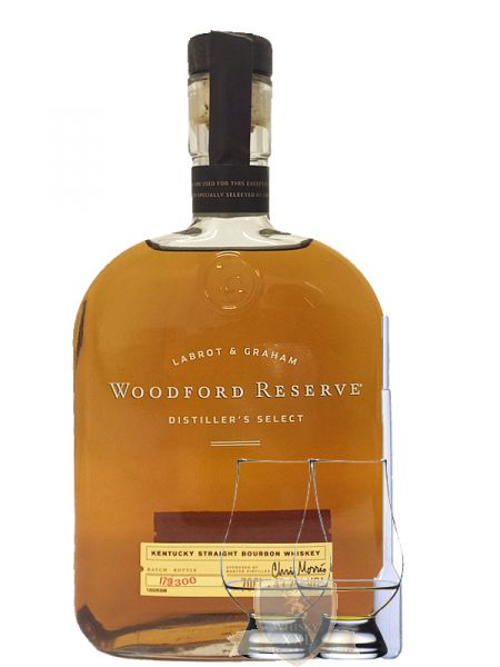 woodford reserve distillers select usa 0 7 liter 2 glencairn gl ser einwegpi ebay. Black Bedroom Furniture Sets. Home Design Ideas