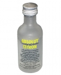 Absolut Vodka Citron 5 cl Miniatur