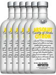Absolut Vodka Citron 6 x 0,70 Liter