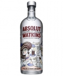 Absolut Vodka Watkins Traveller Exclusive Limited Edition 1,0 Liter