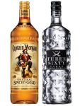 Captain Morgan Spiced Gold Jamaika 3,0 Liter + Three Sixty Vodka 3,0 Liter