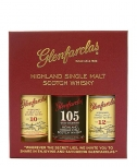 Glenfarclas Collection 3 x 5 cl 10 Jahre / 12 Jahre / 105