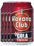 Havana Club Cola in Dose 4 x 0,33 Liter