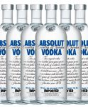 Absolut Blue Vodka 6 x 0,70 Liter