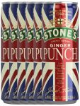 Stones Ginger Punch Limited Edition England 6 x 0,25 Liter